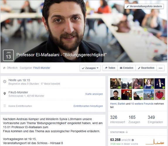 Vortrag zur Bildungsgerechtigkeit: Professor El-Mafaalani
